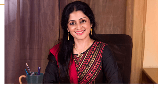 Ms. Mimi Partha Sarathy, founder and managing trustee of Sri Krishna Wellness, Yoga and Cultural Centre malleshwaram, Bangalore