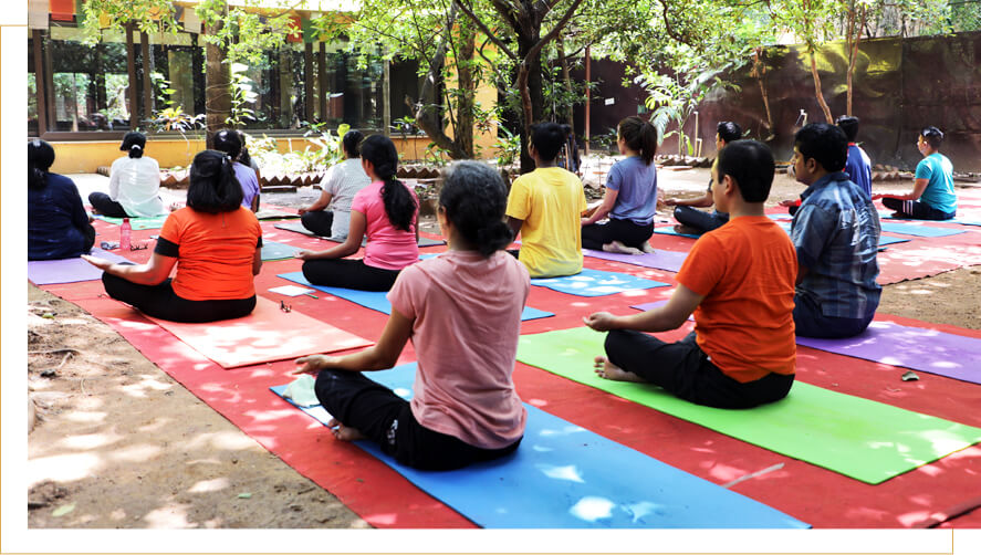 Krishnamachari Yoga Mandiram Chennai conduct Workshops regularly at Srikrishna Wellness, Yoga & Cultural Centre