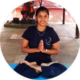 Ms. Chinmayi is a yoga instructor at Sri Krishna Wellness, Yoga and Cultural Centre, Malleshwaram