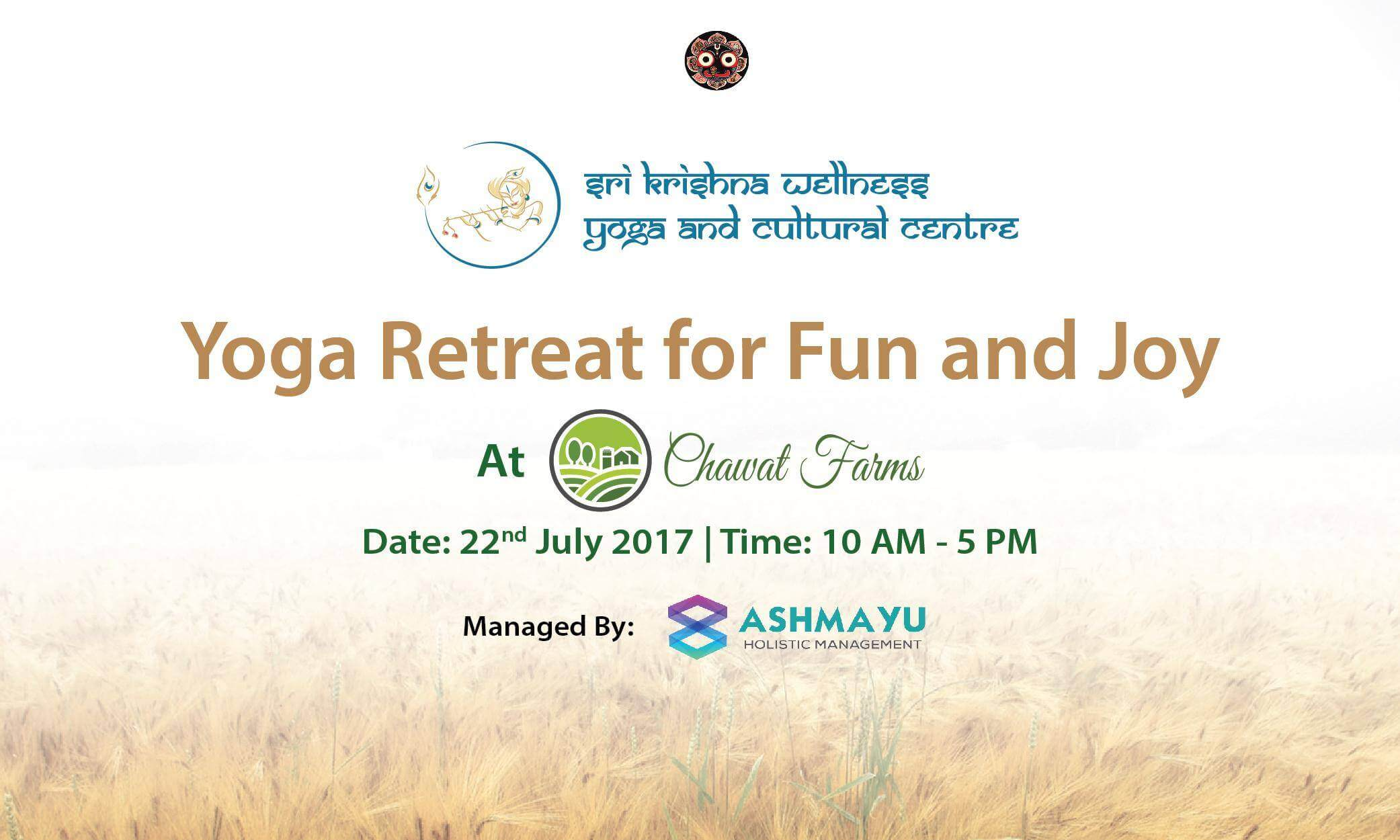 Yoga retreat for Fun and Joy