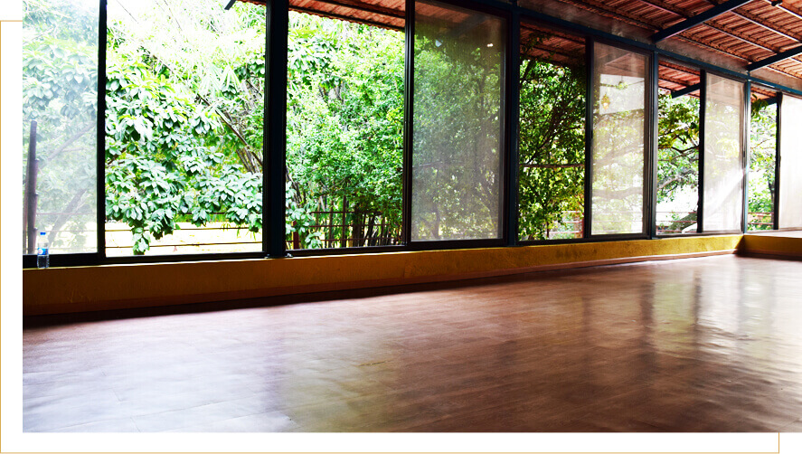 tree top yoga hall sri krishna wellness & yoga centre