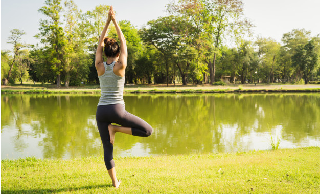 evening yoga poses