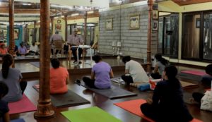 Lecture on principles of yoga