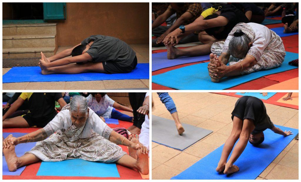Energising Free Yoga Day
