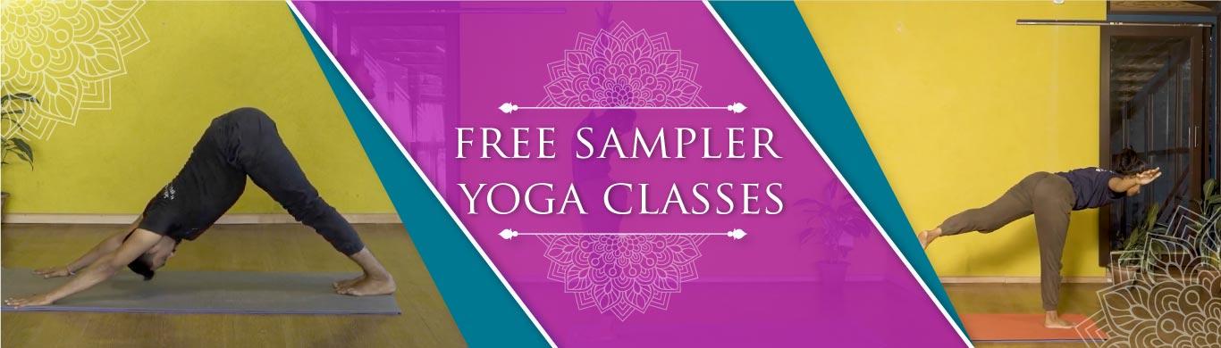 Free Sampler Yoga Class Banner